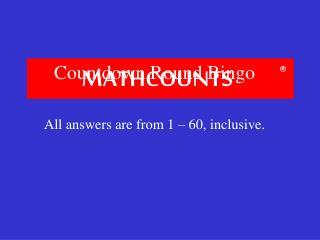 MATH COUNTS