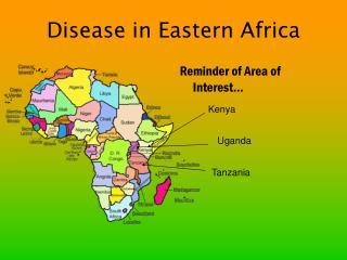 Disease in Eastern Africa