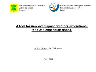 A tool for improved space weather predictions: the CME expansion speed.