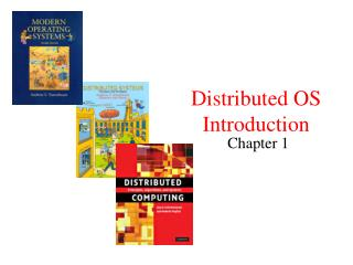 Distributed OS Introduction