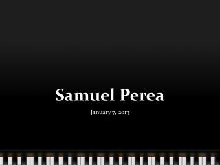 Samuel  Perea