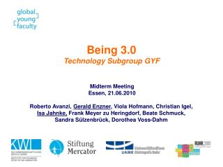 Being 3.0 Technology Subgroup GYF