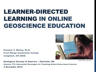 Learner-directed Learning  in Online Geoscience Education