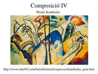 Composició IV