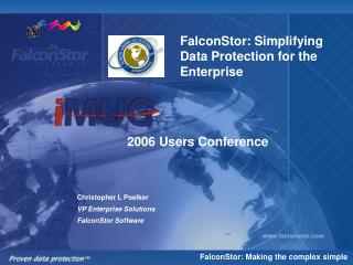 FalconStor: Simplifying Data Protection for the Enterprise