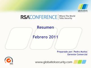 Resumen Febrero 2011