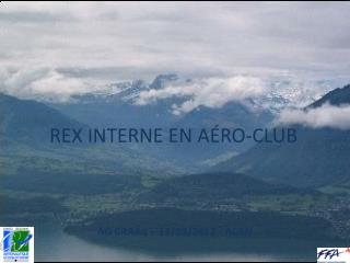 REX INTERNE EN A ÉRO-CLUB