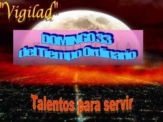 Talentos para servir