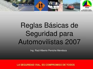 Reglas Básicas de Seguridad para Automovilistas 2007