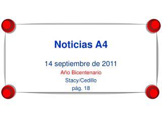 Noticias A4