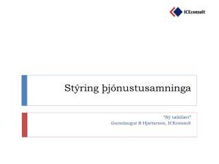 Stýring þjónustusamninga