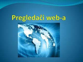 Pre gledač i  web-a