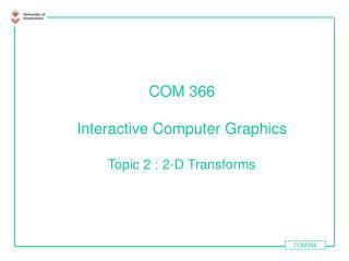 COM366