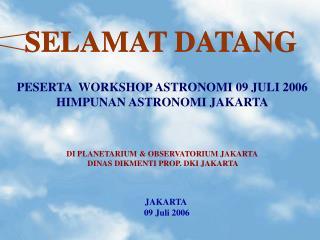 JAKARTA  09 Juli 2006