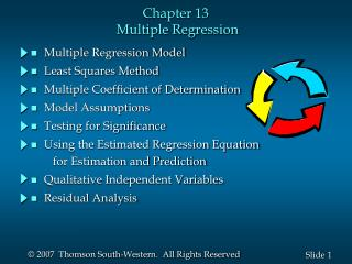 Chapter 13  Multiple Regression