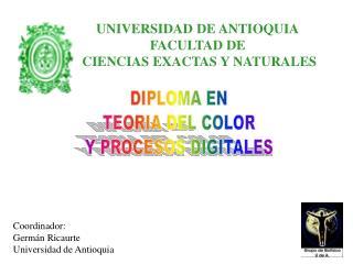 DIPLOMA  EN TEORIA DEL COLOR Y PROCESOS DIGITALES