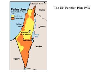 The UN Partition Plan 1948