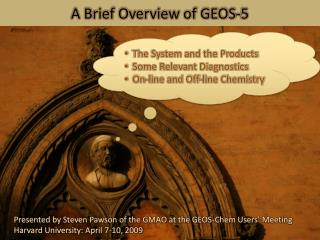 A Brief Overview of GEOS-5