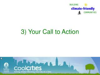 3) Your Call to Action