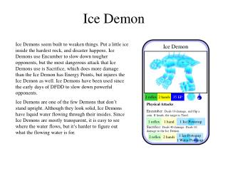 Ice Demon