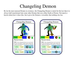 Changeling Demon