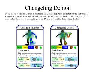 Changeling Demon