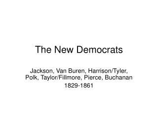 The New Democrats