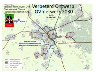 Verbeterd Ontwerp  OV-netwerk 2030