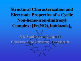 Eric Sundberg and Lijuan Li California State University, Long Beach