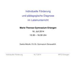 Saskia Motullo, E/L/Gr, Gymnasium Donauwörth