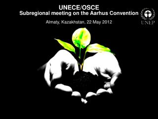 UNECE/OSCE  Subregional meeting on the Aarhus Convention Almaty, Kazakhstan, 22 May 2012