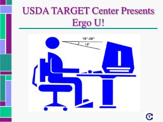 USDA TARGET Center Presents Ergo U!