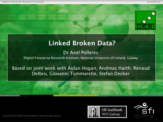 Linked Broken Data?