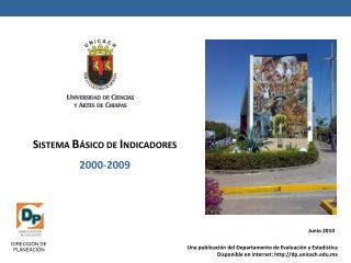 S ISTEMA  B ÁSICO DE  I NDICADORES 2000-2009