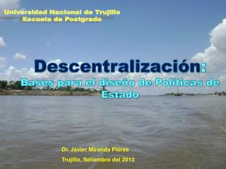 Universidad Nacional de Trujillo Escuela de Postgrado