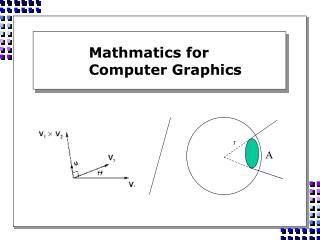 Mathmatics for  Computer Graphics