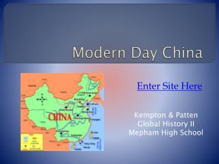 Modern Day China
