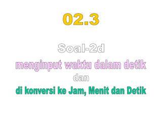 Soal-2d