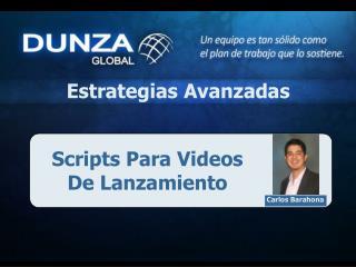 Scripts Para Videos De  Lanzamiento