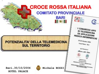 CROCE ROSSA ITALIANA COMITATO PROVINCIALE BARI