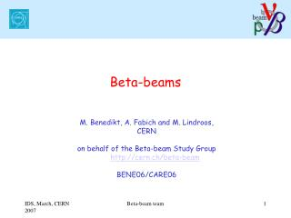 Beta-beams