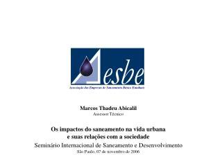 Associação das Empresas de Saneamento Básico Estaduais