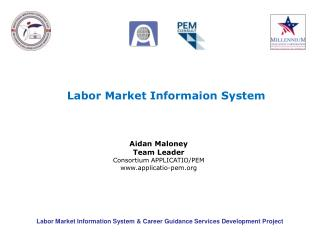 Labor Market Information System  Career Guidance Services Development Project