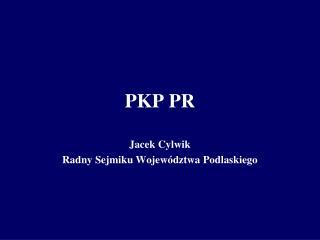 PKP PR