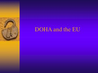 DOHA and the EU