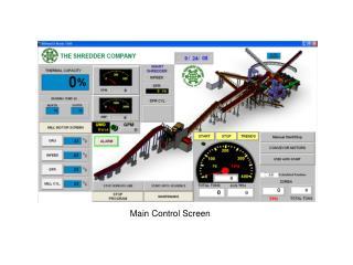 Main Control Screen