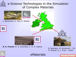 e-Science Technologies in the Simulation of Complex Materials