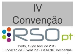 IV  Convenção