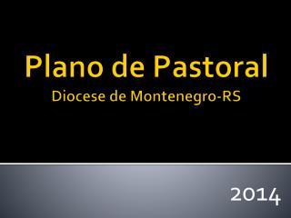 Plano de Pastoral Diocese de Montenegro-RS