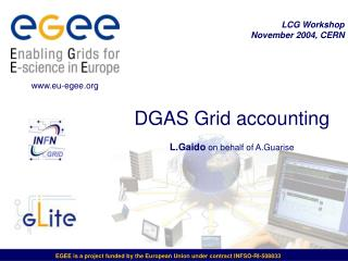 DGAS Grid accounting  L.Gaido  on behalf of A.Guarise